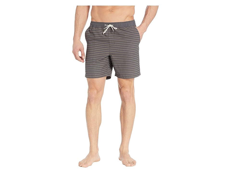 O'Neill Shorty Boardshorts (Asphalt) Men's Swimwear, Black