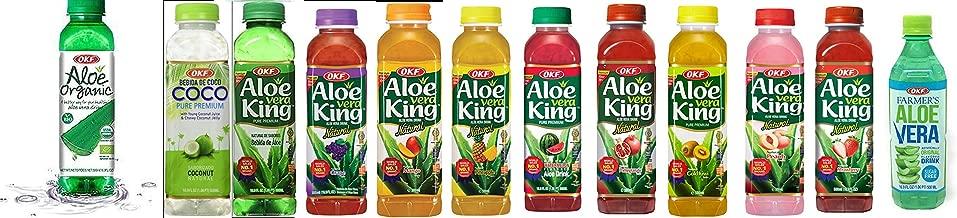 OKF Aloe Vera King Drink (12 flavor variety pack, 12)