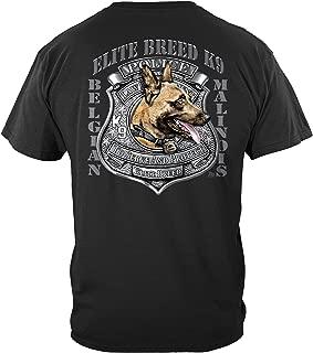 Thin Blue Line T Shirt - Law Enforcement Gear for Men - Law Enforcement - THD054