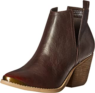 Not Rated Women's 4 My Peeps Boot, Wine, 6.5 M US