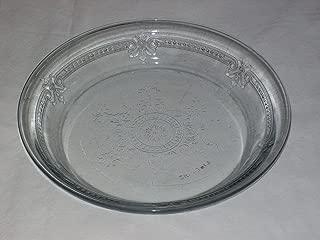 fire king sapphire blue pie plate