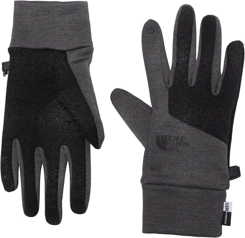The North Face Etip Glove TNF Dark Gray Heather/TNF Black Size Medium