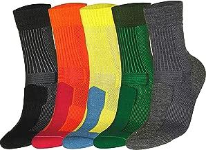 DANISH ENDURANCE Merino Wool Light 3/4 Crew Socks Hiking Trekking Outdoor Men Women Kids
