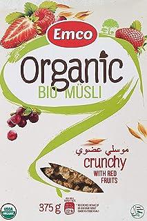 Emco Organic - Bio Crunchy Muesli, Red Fruits, 375 gm