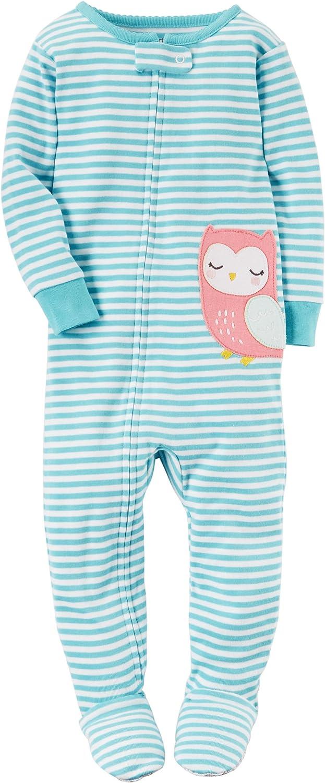 Carter's Toddler Girls Lightweight Snowman Sleeper Footie Pajama Sleep & Play