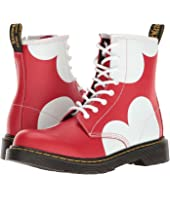 Dr. Martens Kid's Collection - Delaney HRT Lace Boot (Big Kid)