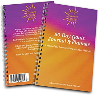 iCreateDaily 90 Day Goal Journal - A Motivational Daily Planner to Achieve Your Dreams with Productivity, Mindfulness, and Accountability - Purple