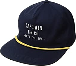 Captain Fin On Deck Hat