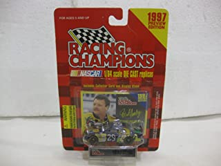 Robert Pressley #29 Scooby Dooby Doo! Chevy Monte Carlo Nascar In Purple Diecast 1:64 Scale 1997 Preview Edition By Racing Champions