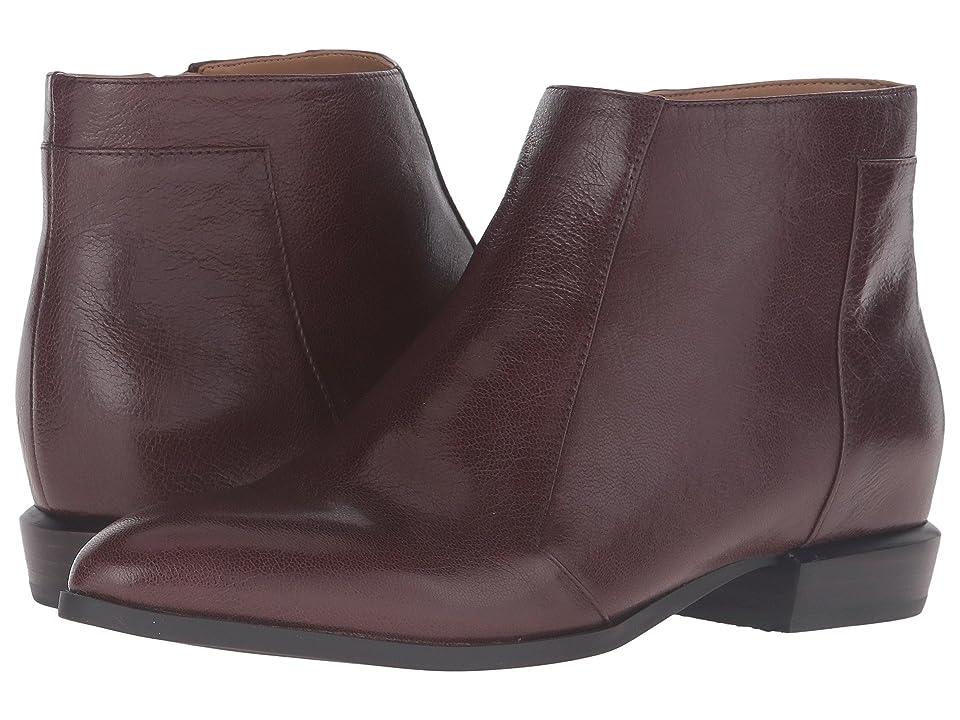 Nine West Dopler (Dark Brown Leather) Women