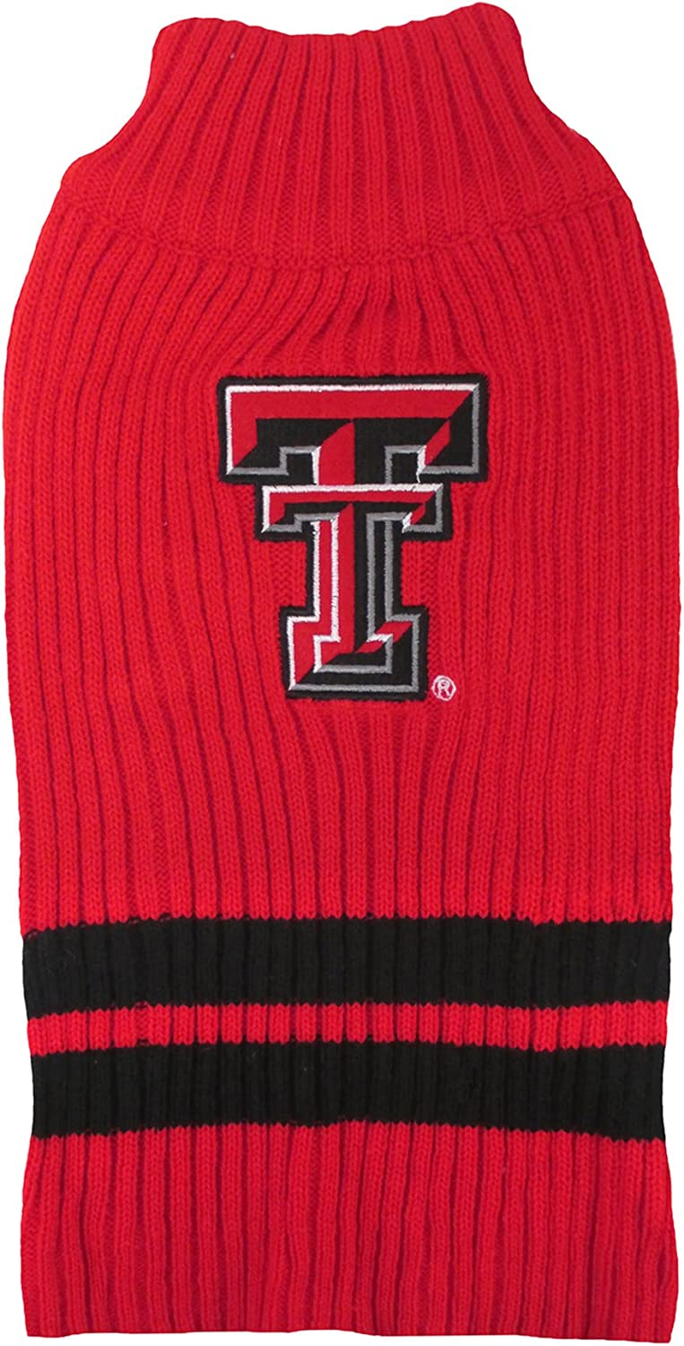 Pets First Texas Tech Sweater, Small