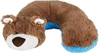 Animal Planet Travel Pillow for Kids, Bear