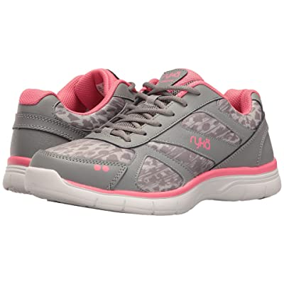 Ryka Dream SMT (Frost Grey/Summer Grey/Calypso Coral) Women