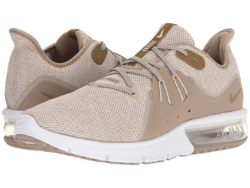 Nike Air Max Sequent 3 (Desert Sand/Lichen Brown/Khaki/White) Men