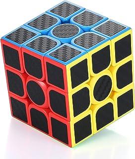 XMD 魔方 3x3 マジックキューブ 型 3x3 炭繊維キューブ 競技用 立体パズル 公式·WCA国際大会規格 脳トレ おもちゃ 对象年齢:6歳以上