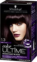 Schwarzkopf Color Ultime Hair Color Cream, 1.3 Black Cherry (Packaging May Vary)