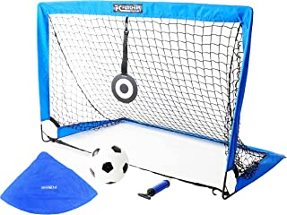 FCfuncheer Portable Soccer Goal - Pop-Up Soccer Goal with...