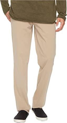 Compact Cotton Stretch Twill Flat Front