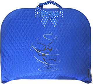 TOP QUALITY Durable Quilted Custom Ice skating Figure Skating Design Garment Bag Luggage Travel or Costume Bag Personalized