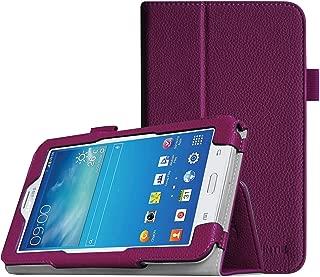 Fintie Folio Case for Samsung Galaxy Tab E Lite 7.0 - Slim Fit Folio Stand Leather Cover for Galaxy Tab E Lite SM-T113/Tab 3 Lite 7.0 SM-T110/SM-T111 7-Inch Tablet, Purple