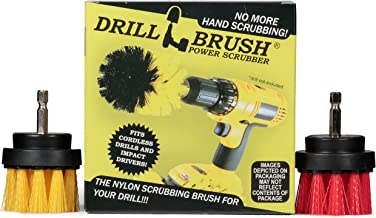 Bathroom Accessories - Cleaning Supplies - Grout Cleaner - Drill Brush - 2-inch Spin Brush Cleaning Set - Shower Cleaner -...