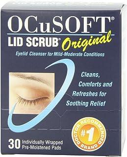 OCuSOFT Lid Scrub پد های اولیه، آغشته شده، 30 عدد