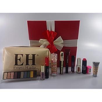 LOreal Beauty Blockbuster - Caja de regalo de maquillaje, 10 piezas LOreal maquillaje productos en caja de regalo + base gratis + bolsa de maquillaje de Emma Hardie: Amazon.es: Belleza