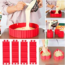 Nonstick 4PCS Silicone Cake Mold Cake Pan Magic Bake Snake DIY Baking Mould Tools - Design Your Cakes Any Shape