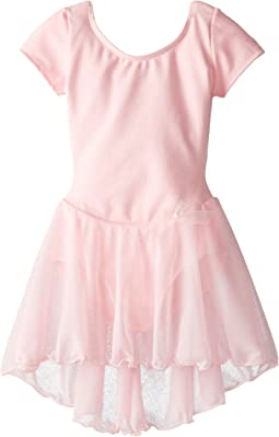 Capezio Kids - Short Sleeve Nylon Dress (Toddler/Little Kids/Big Kids)