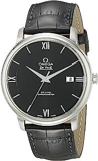 Omega - – Reloj de Pulsera analógico automático para Hombre Piel 42413402001001