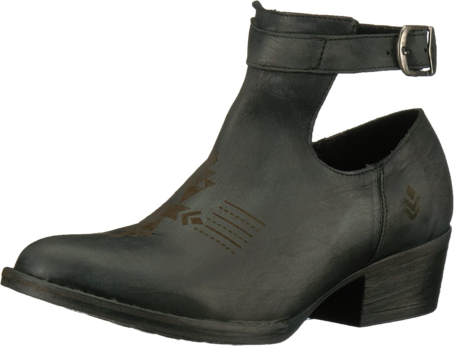 Sbicca Womens Peaceout Ankle Bootie