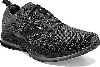 Brooks Mens Bedlam 2 Running Shoe - Ebony/Black/Grey - D - 9.0