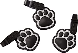 4GUYS Pet ID Tag 3-Pack with Easy Change Connector EZ Clip for Personalized ID Tag for Silence Use Fits Dogs and Cats and Requires No Tools Great for Keys Kids Backpacks and School Bags