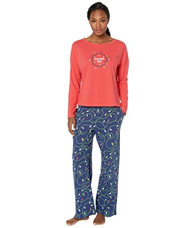 Life is Good Shine on PJ Bundle (Multi) Women