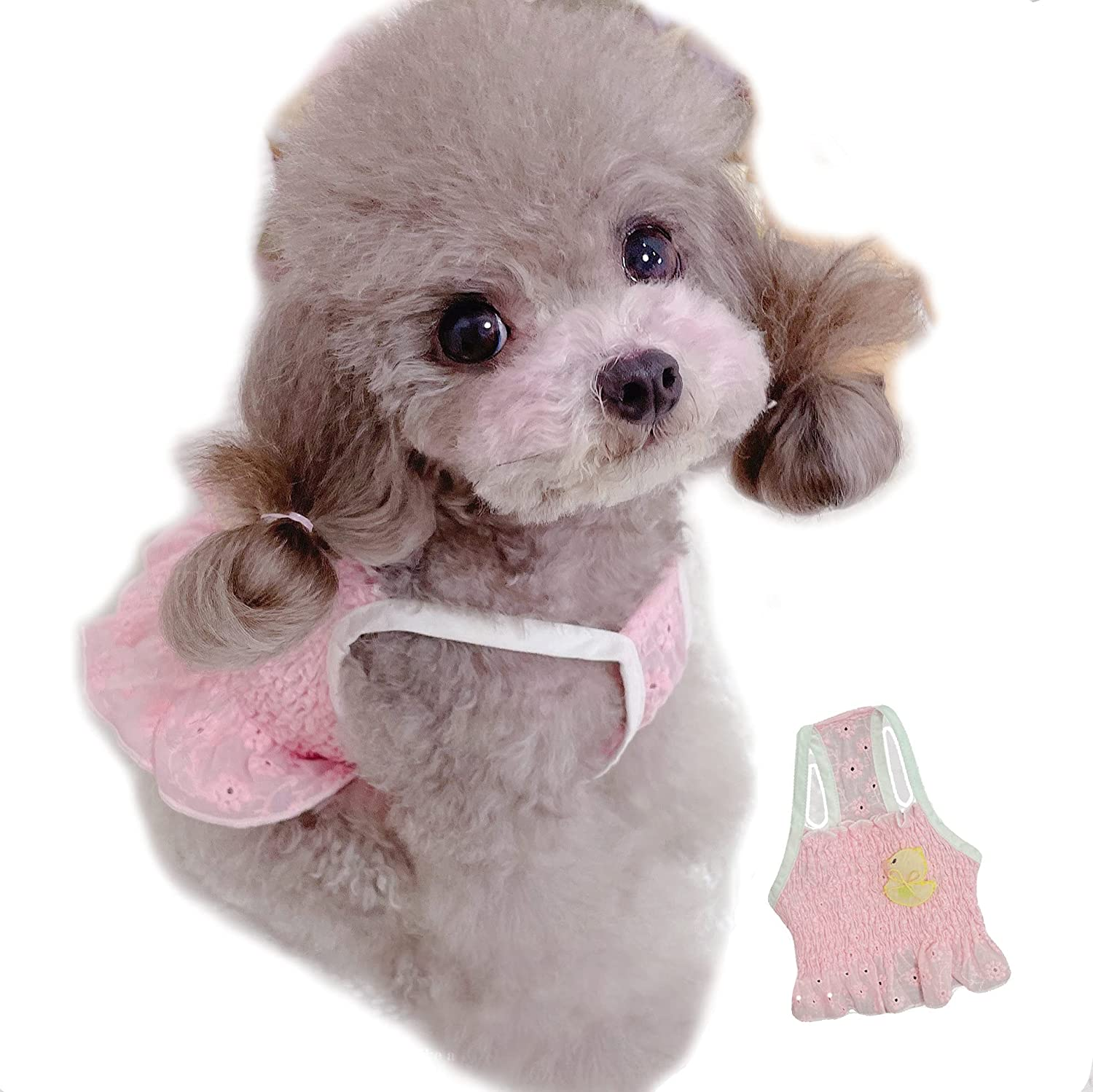 KILLUA Dog Dresses Pet Clothes Shipping included Cute Dress Short Style Sprin Sale Special Price Pink