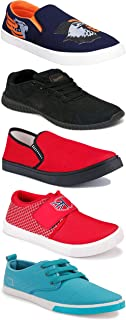 Shoefly Sports Running Shoes/Casual/Sneakers/Loafers Shoes for Men&Boys (Combo-(5)-1219-1221-1140-472-1024)