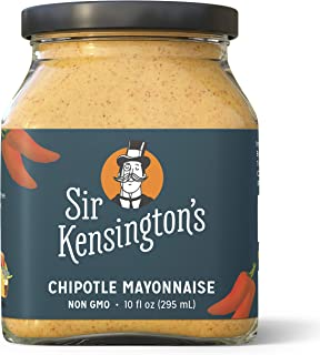 Sir Kensington's Mayonnaise, Chipotle Mayo, Gluten Free, Non- GMO Project Verified, Certified Humane Free Range Eggs, Shelf-Stable, 10 oz