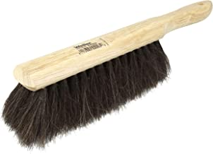 """Weiler 44003 Horsehair Counter Duster with Wood Handle, Horsehair Fill, 2-1/2"""" Head Width, 8"""" Overall Length, Natural"""