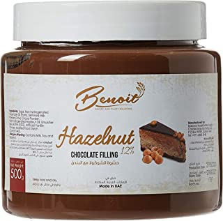 Benoit Hazelnut Cocoa Cream 12%, 500 gm