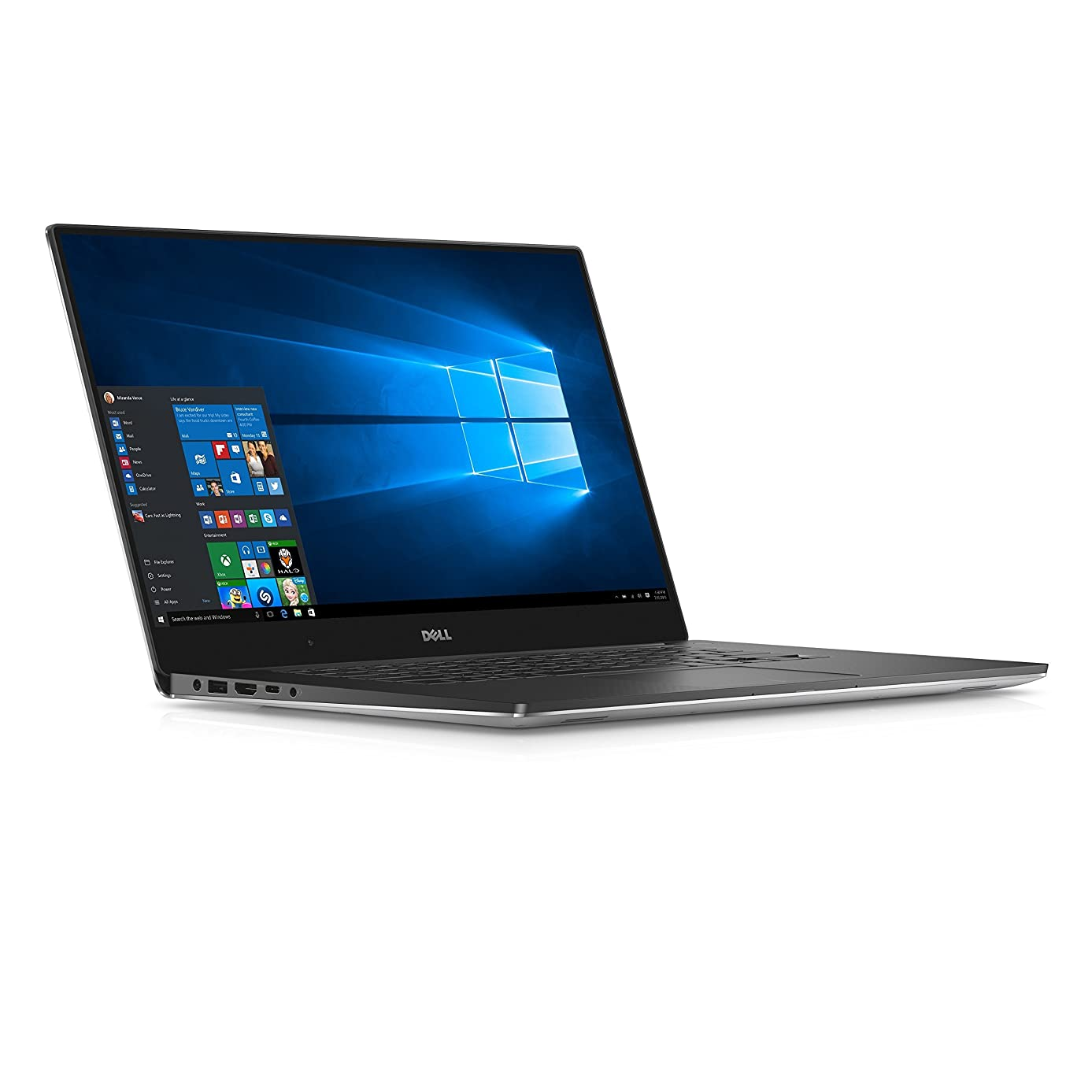 Dell XPS 15-9550 15.6-Inch Laptop (Intel Core i5-6300HQ X4 2.3GHz 8GB 1TB Windows 10 Home)Black (Renewed)
