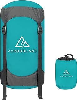 Acrossland Compression Stuff sack-10L/20L/35L/45L Sleeping Bag Compression Sack with Shoulder Strap and Carry Bag, Excellent for Hiking and Back Packing