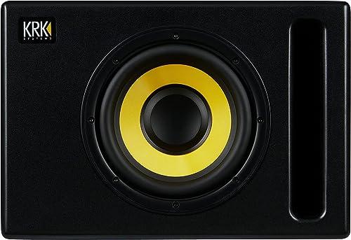 """KRK S8.4 S8 Generation 4 8"""" 109 Watt Powered Studio Subwoofer"""