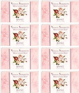 Lot of 8 Venezia Soapworks (Rose)