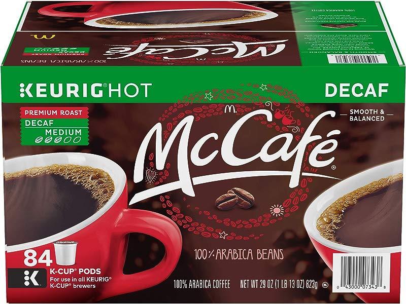 McCafe Decaf Premium Roast Keurig K Cup Coffee Pods 84 Count