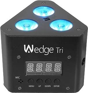 CHAUVET DJ Wedge Tri LED Wash Light w/Infared Remote Control Included