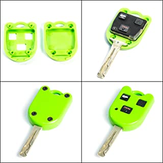 STAUBER Best Key Shell Replacement for Lexus - HYQ1512V, HYQ12BBT - NO Locksmith Required Using Your Old Key and chip! - Green