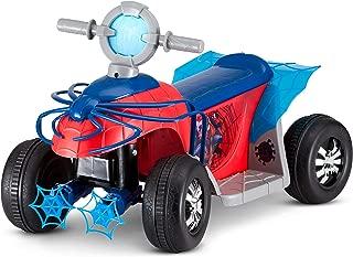 Kid Trax Marvel's Spider-Man Premium Toddler Quad, 6V Ride-On Toy