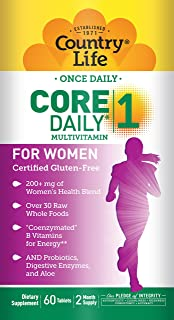 Sponsored Ad - Country Life Core Daily 1 for Women Tablets, 60 Count