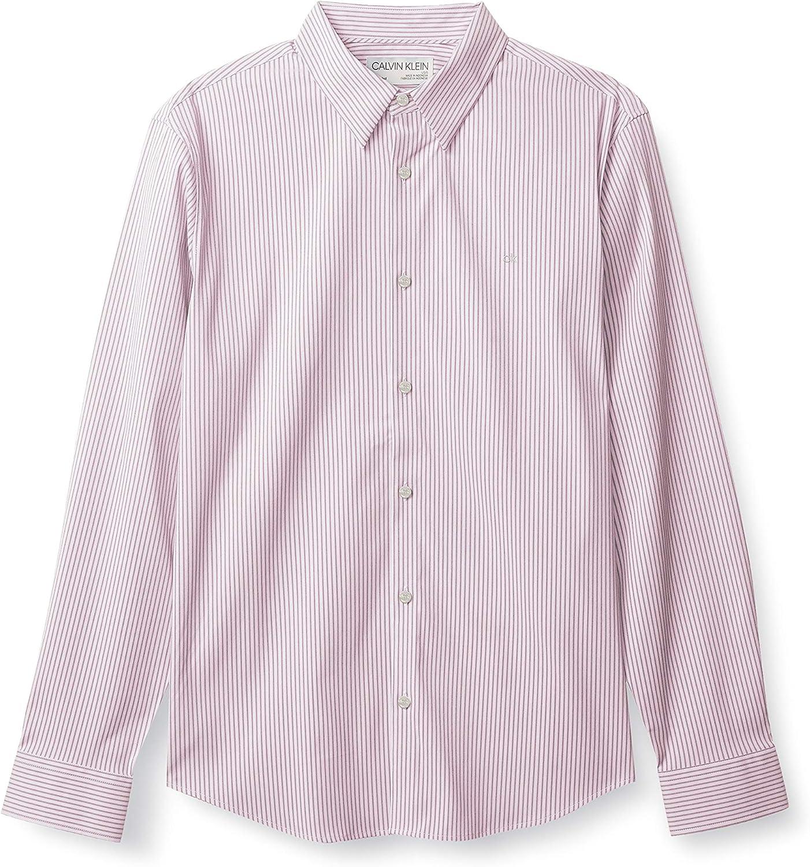 Calvin Klein Men's Move 365 Minneapolis Mall Long Button-Down Dry Sh El Paso Mall Quick Sleeve