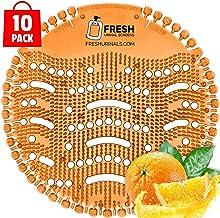 Urinal Screens (10 PACK) – Orange